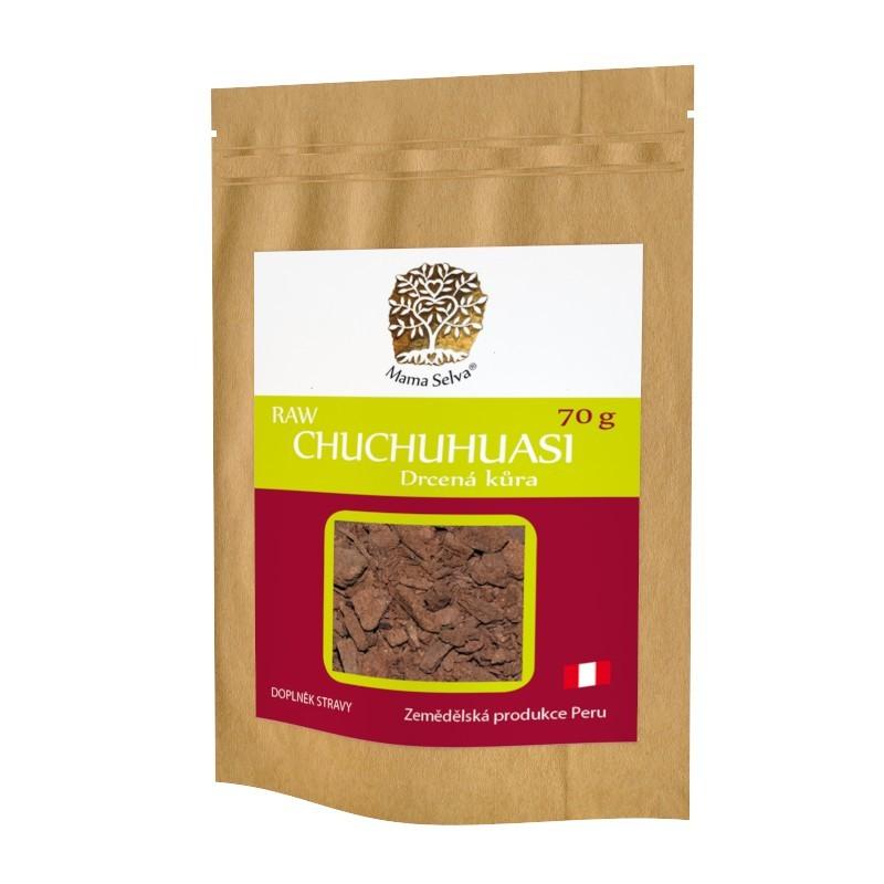 CHUCHUHUASI – RAW suchá kůra mletá na drť