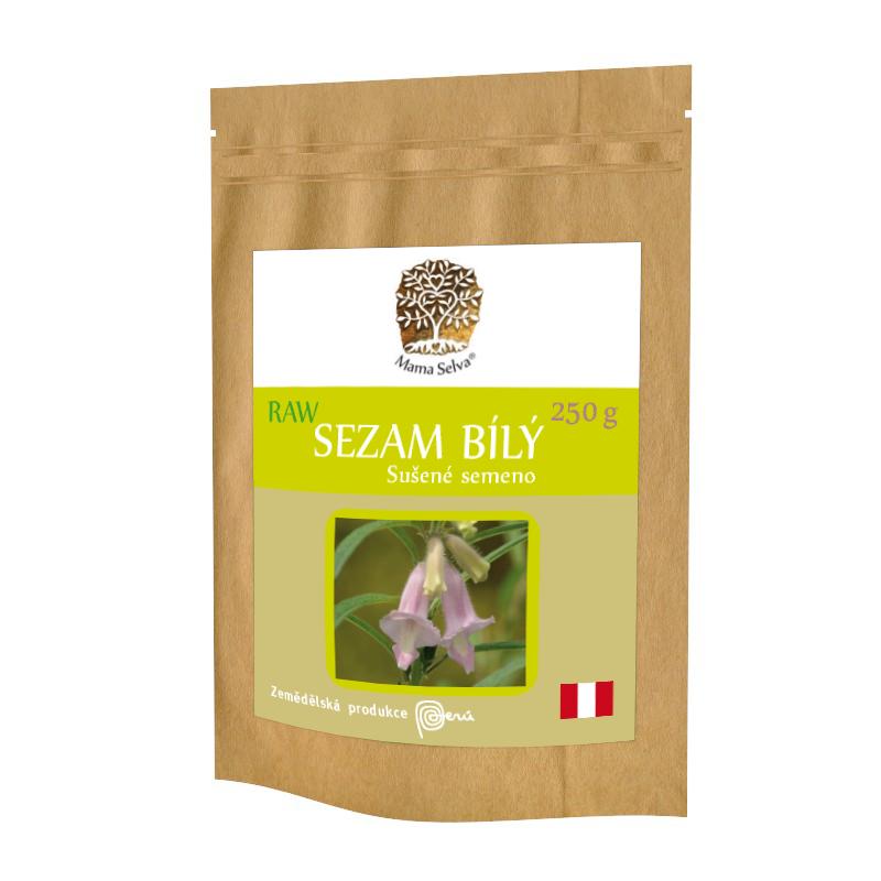 SEZAM BÍLÝ 250 g - RAW Semeno