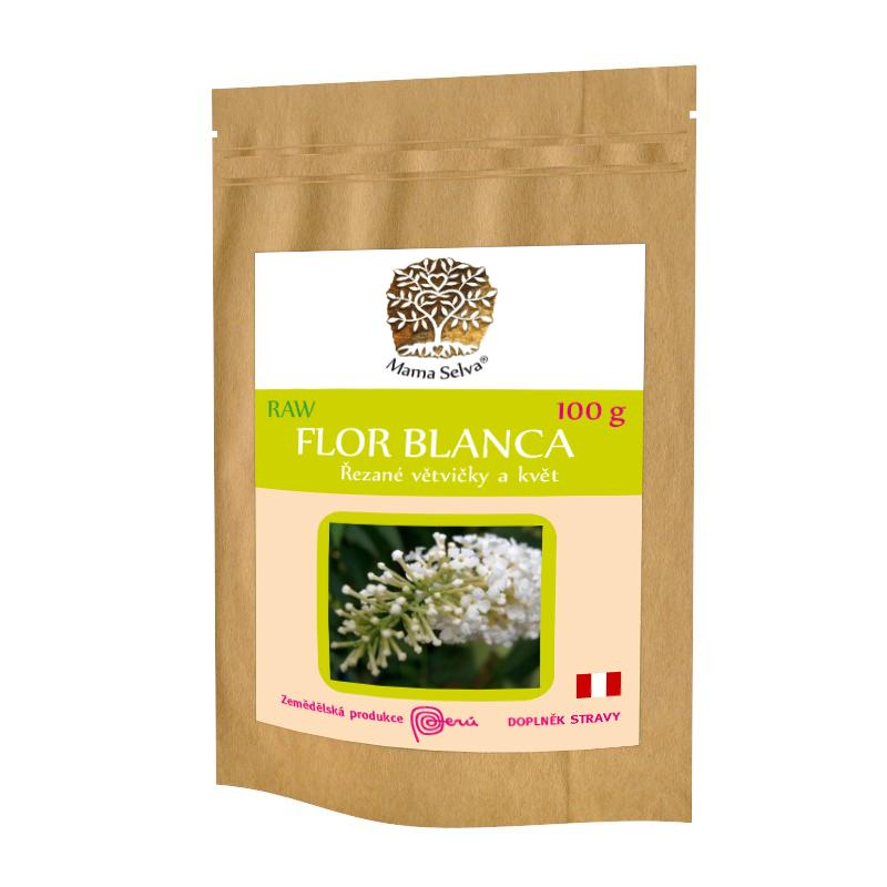 FLOR BLANCA – RAW řezaný květ s drobnými větvičkami
