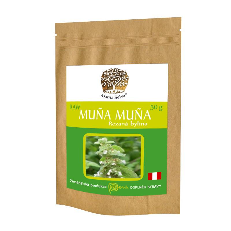 MUÑA MUÑA - RAW řezaná nadzemní část sušené rostliny