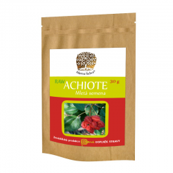 ACHIOTE – RAW prášek z mletého suchého semene