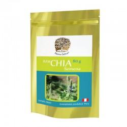 CHÍA NEGRA 80 g - RAW sušené semeno