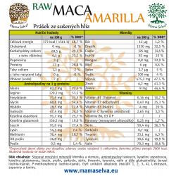 MACA Amarilla -  Žlutá maca z Peru