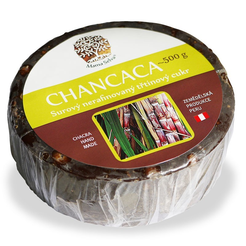 CHANCACA 500 g - domácí surový nerafinovaný třtinový cukr